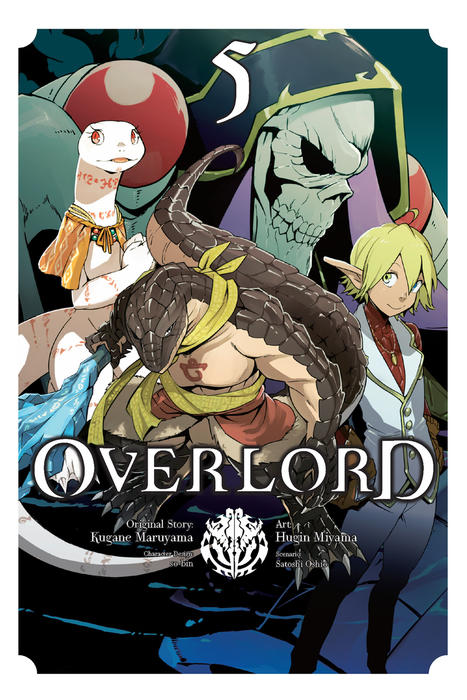 BOOK☆WALKER Global:Overlord, Vol  5 (Overlord) - Manga - BOOK☆WALKER