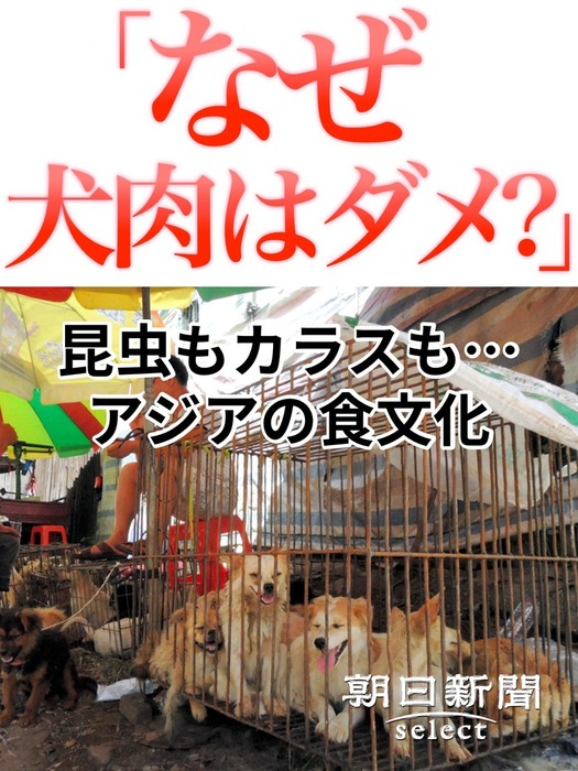 「なぜ犬肉はダメ?」 昆虫もカラスも…アジアの食文化拡大写真