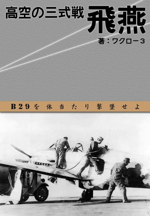 「高空の三式戦 飛燕」 (横組み)拡大写真