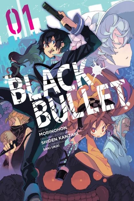 Black Bullet, Vol. 1 (manga)拡大写真