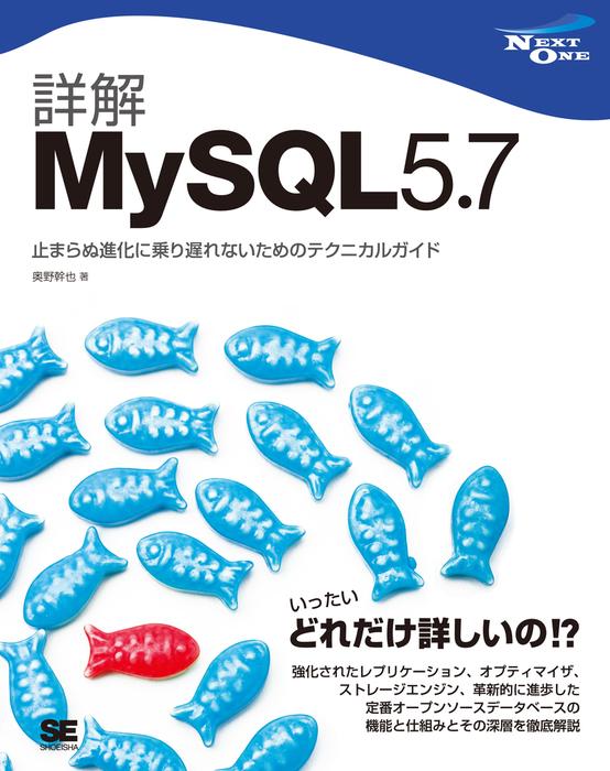 詳解MySQL 5.7 止まらぬ進化に乗り遅れないためのテクニカルガイド拡大写真