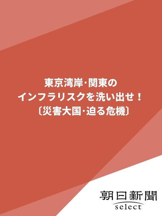 東京湾岸・関東のインフラリスクを洗い出せ!〔災害大国・迫る危機〕拡大写真
