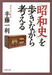 「昭和史」を歩きながら考える-電子書籍