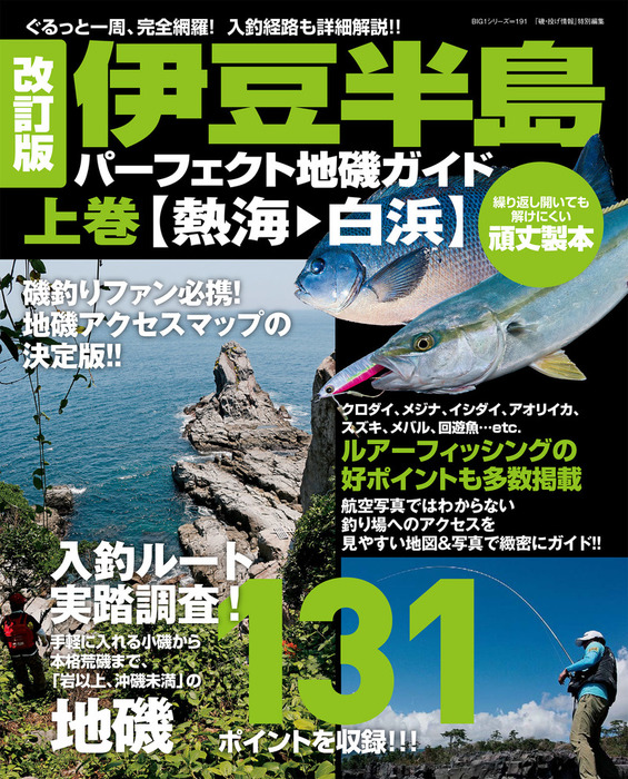 改訂版 伊豆半島パーフェクト地磯ガイド 上巻[熱海→白浜]-電子書籍-拡大画像
