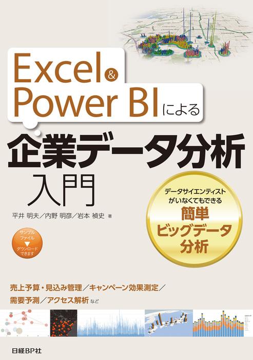 Excel&Power BIによる企業データ分析入門 データサイエンティストがいなくてもできる簡単ビッグデータ分析拡大写真
