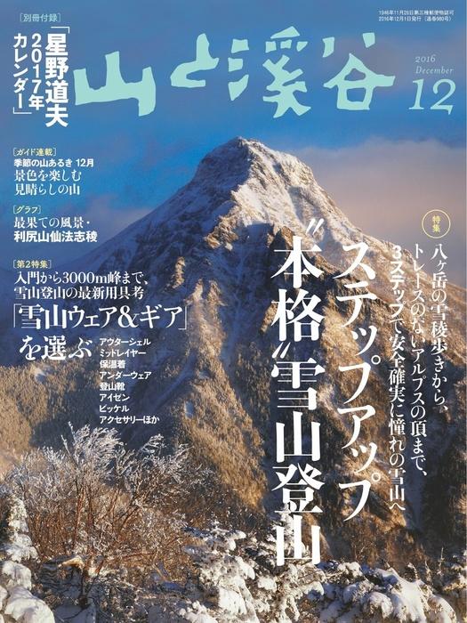 山と溪谷 2016年 12月号 [雑誌]-電子書籍-拡大画像