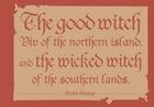 『純潔のマリア』③限定版『The good witch Viv of the northern island. and the wicked witch of the southern lands.』
