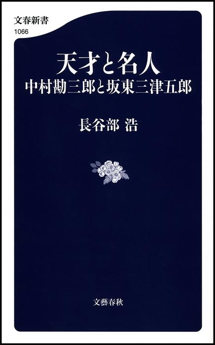 天才と名人 中村勘三郎と坂東三津五郎拡大写真