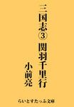 三国志3 関羽千里行-電子書籍