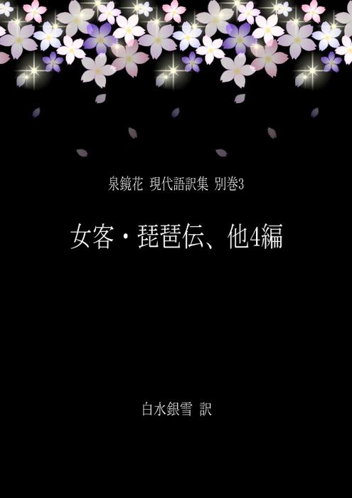 泉鏡花 現代語訳集 別巻3 女客・琵琶伝、他4編拡大写真