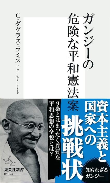 ガンジーの危険な平和憲法案拡大写真