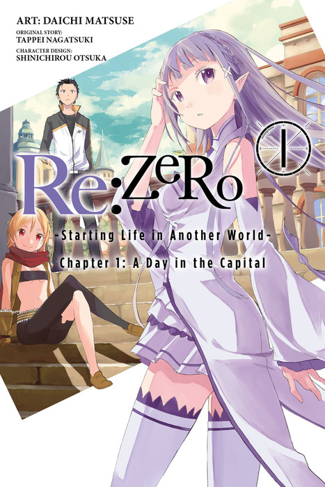 Re:ZERO -Starting Life in Another World-, Vol. 1 (manga)拡大写真