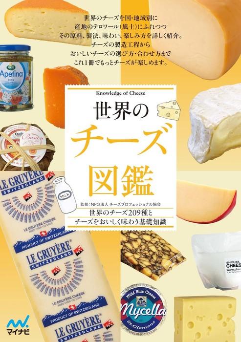 世界のチーズ図鑑拡大写真