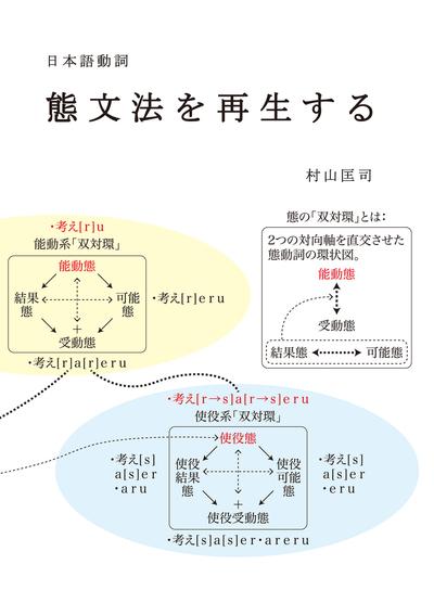 日本語動詞 態文法を再生する-電子書籍