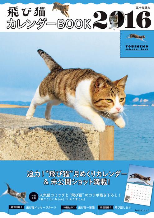 飛び猫 カレンダーBOOK 2016拡大写真