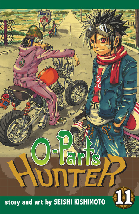 O-Parts Hunter, Vol. 11拡大写真