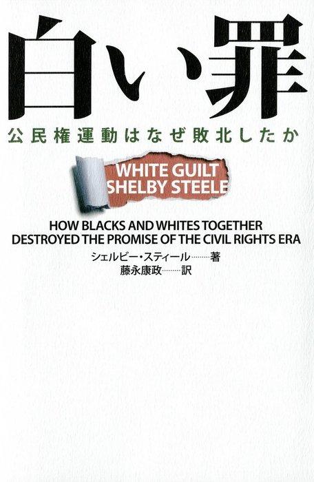 白い罪  公民権運動はなぜ敗北したか拡大写真