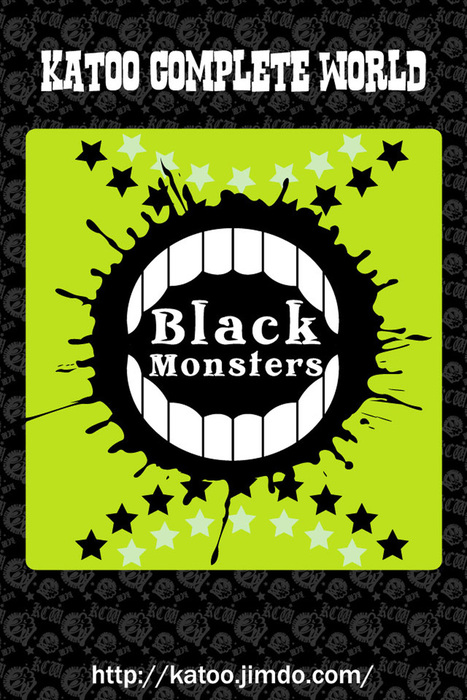 Black Monsters-KATOO COMPLETE WORLD-拡大写真