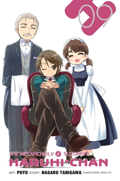 The Melancholy of Suzumiya Haruhi-chan, Vol. 9-電子書籍
