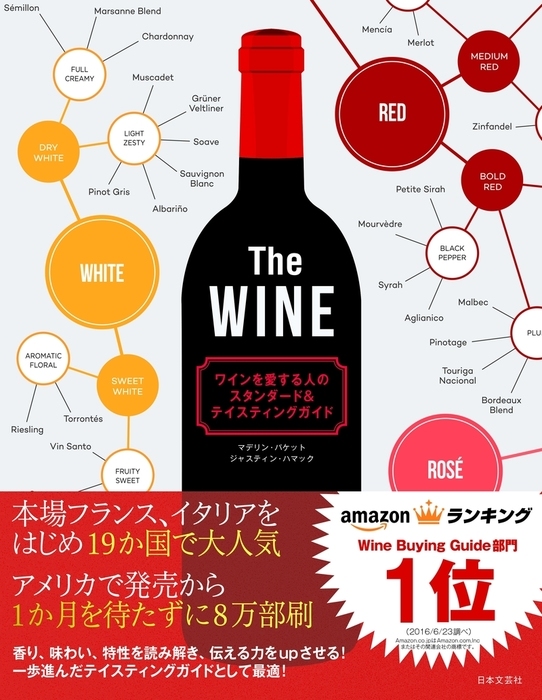 The WINE ワインを愛する人のスタンダード&テイスティングガイド拡大写真