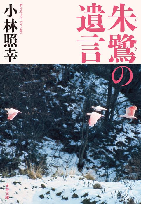 朱鷺の遺言拡大写真