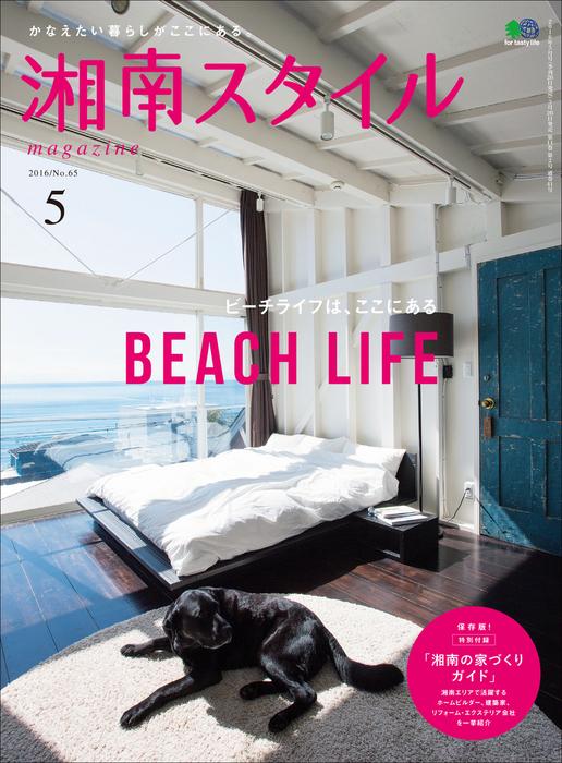湘南スタイルmagazine 2016年5月号 第65号拡大写真