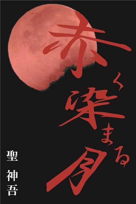 赤く染まる月拡大写真