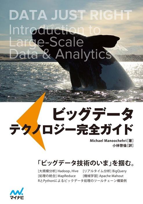 ビッグデータ テクノロジー完全ガイド-電子書籍-拡大画像