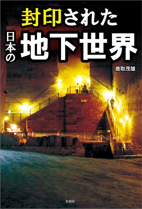 封印された日本の地下世界拡大写真