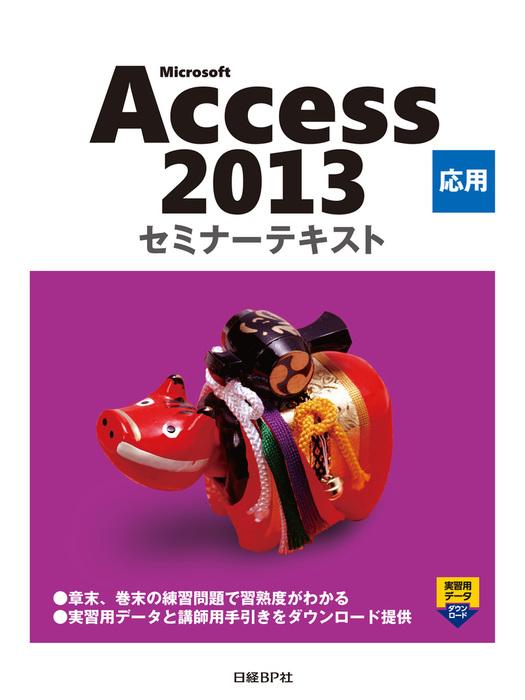 Microsoft Access 2013 応用 セミナーテキスト-電子書籍-拡大画像