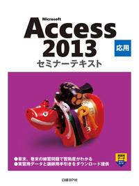 Microsoft Access 2013 応用 セミナーテキスト