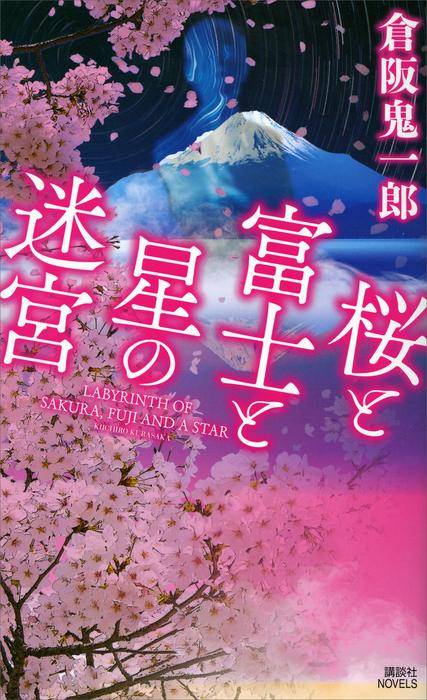 桜と富士と星の迷宮拡大写真
