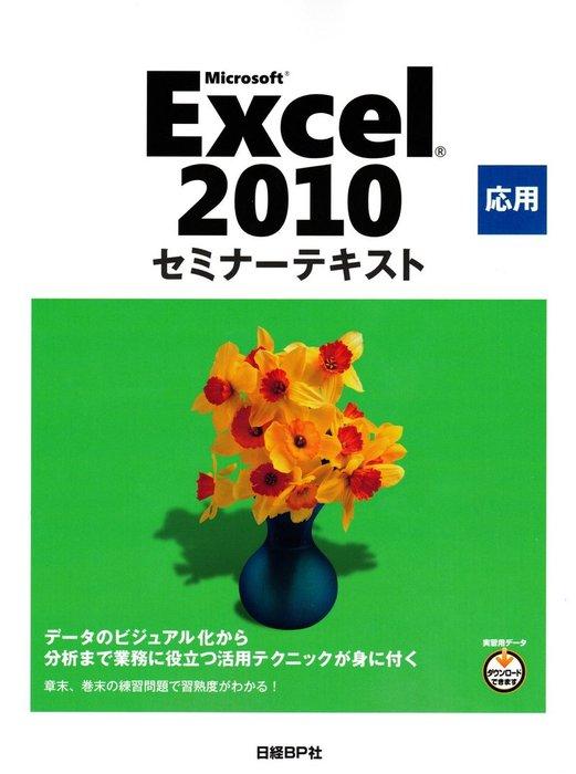 Microsoft Excel 2010 応用 セミナーテキスト-電子書籍-拡大画像