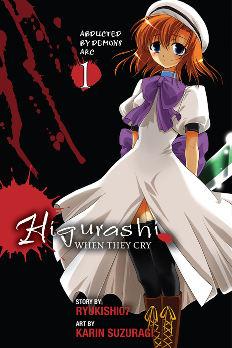Higurashi When They Cry: Abducted by Demons Arc, Vol. 1拡大写真