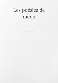 Les poesies de menu-電子書籍