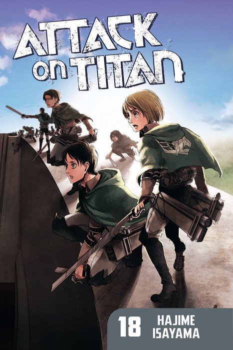 Attack on Titan 18拡大写真