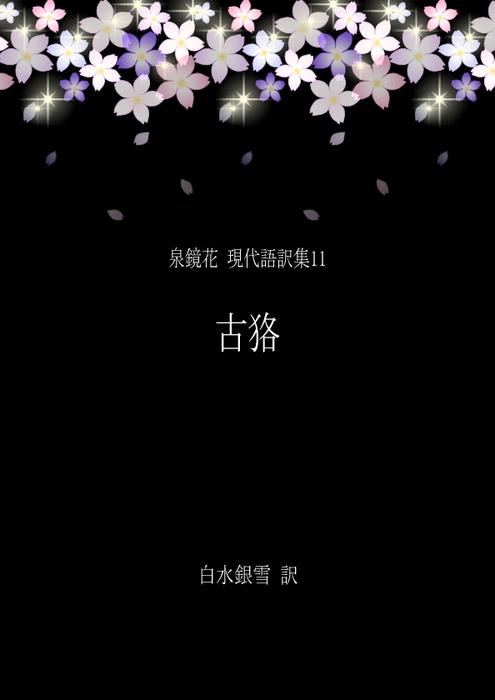 泉鏡花 現代語訳集11 古狢拡大写真