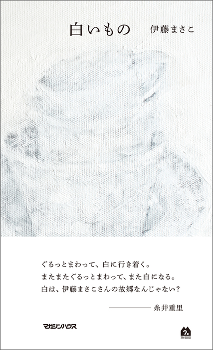 白いもの拡大写真