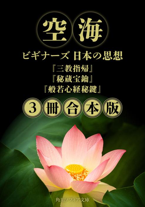空海【3冊 合本版】 『三教指帰』『秘蔵宝鑰』『般若心経秘鍵』 ビギナーズ 日本の思想拡大写真
