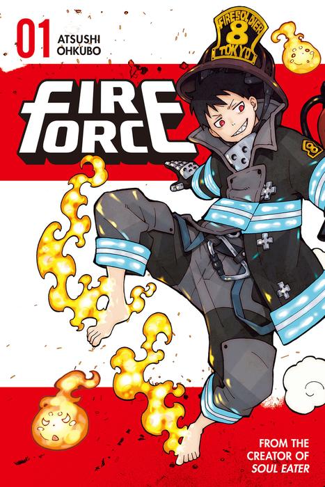 Fire Force Volume 1拡大写真