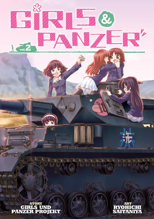 Girls und Panzer Vol. 2拡大写真