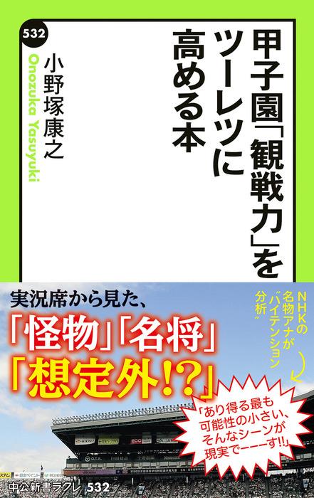 甲子園「観戦力」をツーレツに高める本-電子書籍-拡大画像