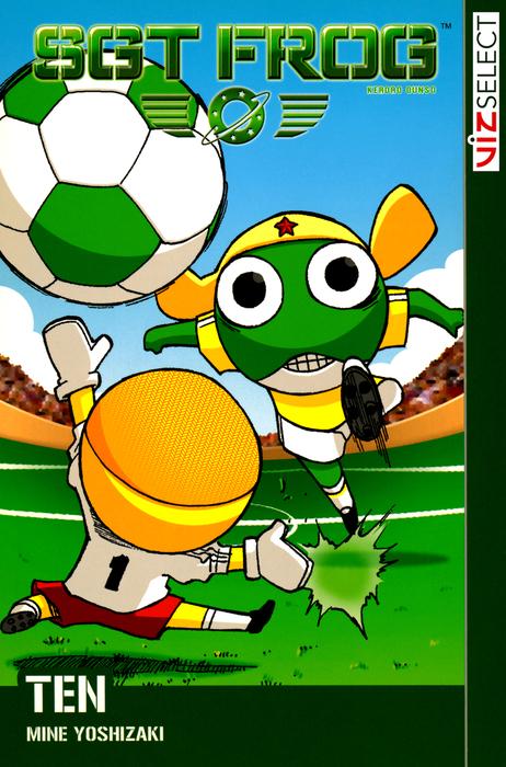 Sgt. Frog, Vol. 10拡大写真