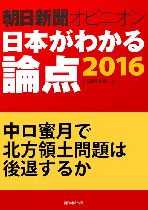 中ロ蜜月で北方領土問題は後退するか(朝日新聞オピニオン 日本がわかる論点2016)拡大写真