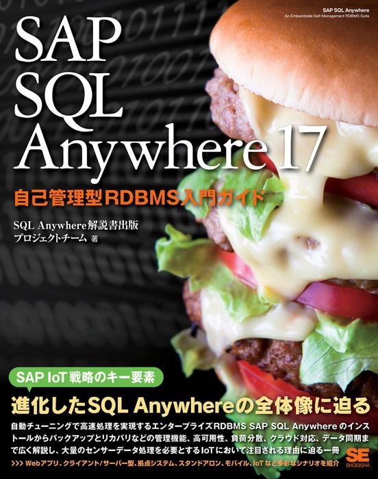SAP SQL Anywhere 17 自己管理型RDBMS入門ガイド拡大写真