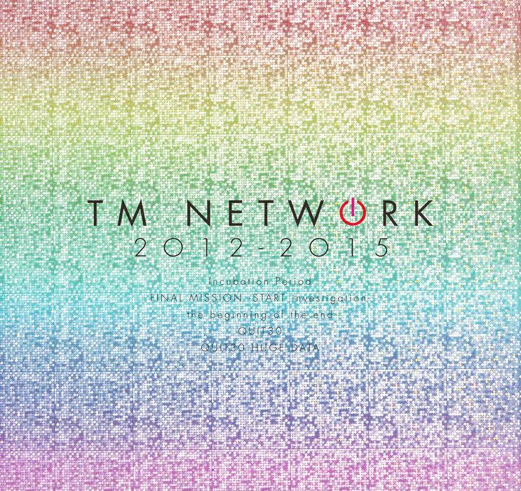 TM NETWORK 30th 1984~ 2012-2015 公式ツアーパンフレット拡大写真