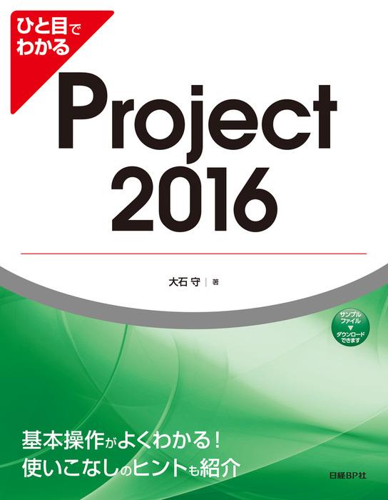 ひと目でわかるProject 2016拡大写真