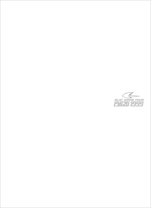 """GLAY DOME TOUR """"pure soul"""" 1999 ライブフォト収録特別版拡大写真"""