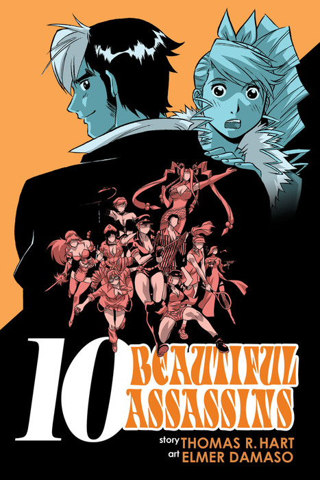 Ten Beautiful Assassins Vol. 1拡大写真