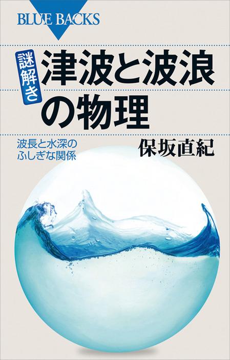 謎解き・津波と波浪の物理 波長と水深のふしぎな関係-電子書籍-拡大画像
